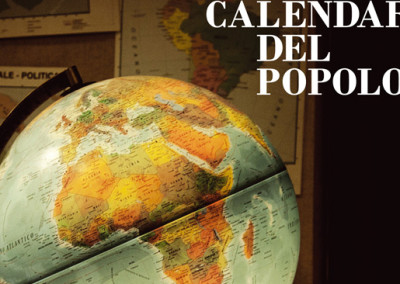 "GRAFICA E ART DIRECTION PER IL ""CALENDARIO DEL POPOLO"""