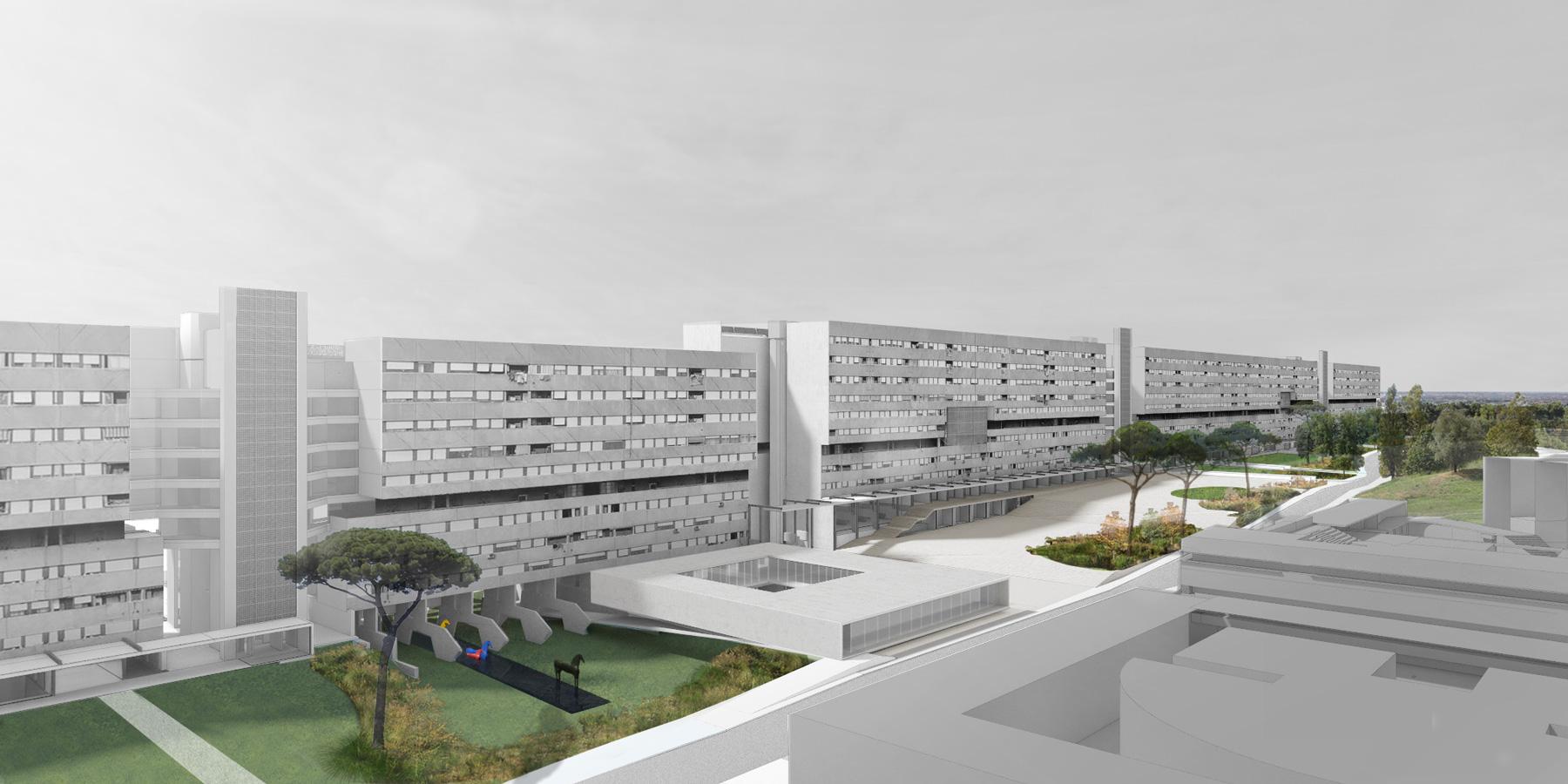 Rigenerare corviale studioinsito for Progetti di costruzione di appartamenti