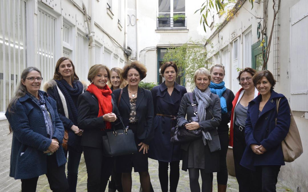 """January 2016: Prize ceremony """"Prix des femmes architectes 2015"""""""