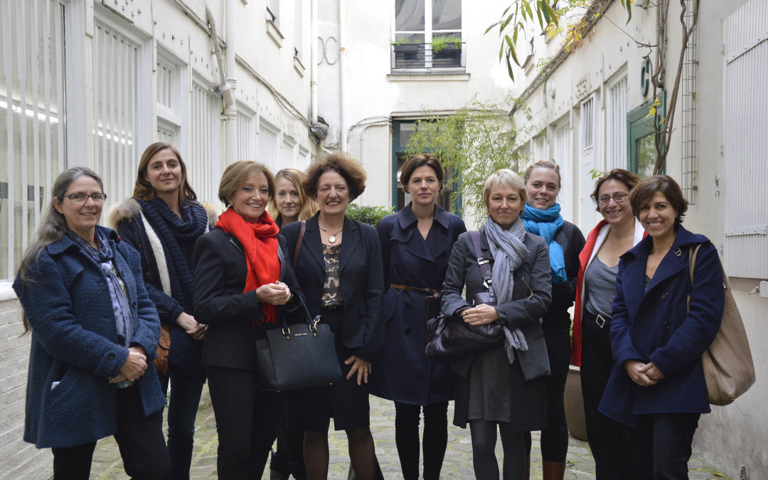 (Italiano) Gennaio 2016: Cerimonia del premio «Prix des femmes architectes 2015»