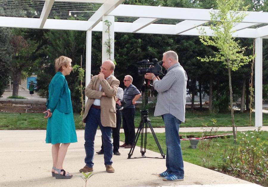 June 2015: reportage RaiTre in Mingachevir