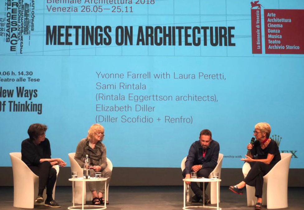 New Ways of Thinking – conference at the Biennale Architettura 2018