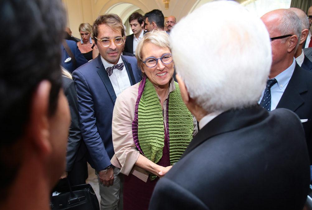 Laura Peretti meets the President Sergio Mattarella